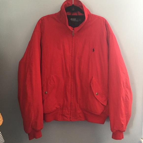 Vintage Lauren Jacket Ralph Polo Bomber QBthCrdxs